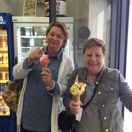 Lisa and Karen Gelato