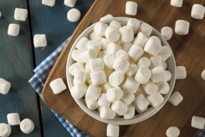 White mini marshmallows