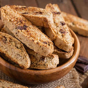Double Chocolate Chip Biscotti