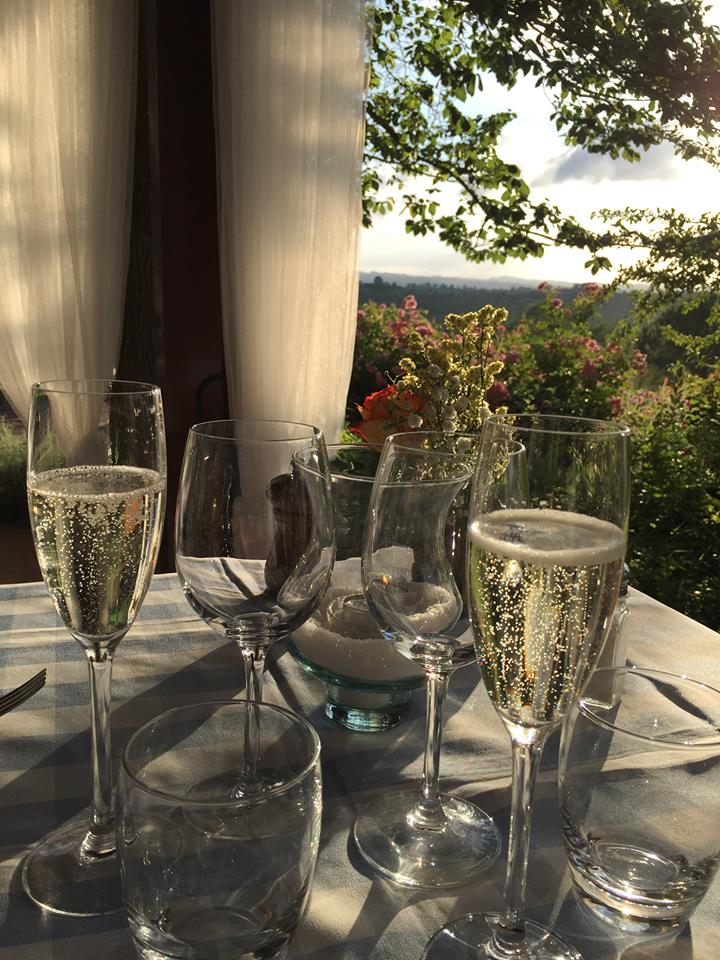 Last dinner in Tuscany 2016
