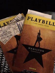 Playbill Hamilton