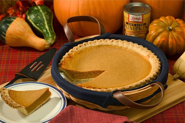 Delicious Fresh Pumpkin Pie for Thanksgiving