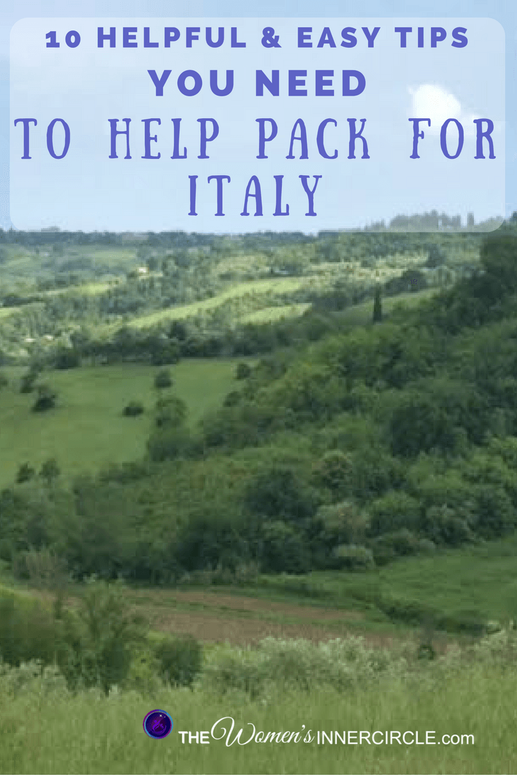 When Going to Any Travel Destination, it is smart to start with some Packing Tips. We've got some great tips for you for when you travel to Italy. Whether you are going to Tuscany, Rome, Florence, The Amalfi Coast, Venice, Milan, Cinque Terre, or any other Travel Destination, these tips will be a great starting point.