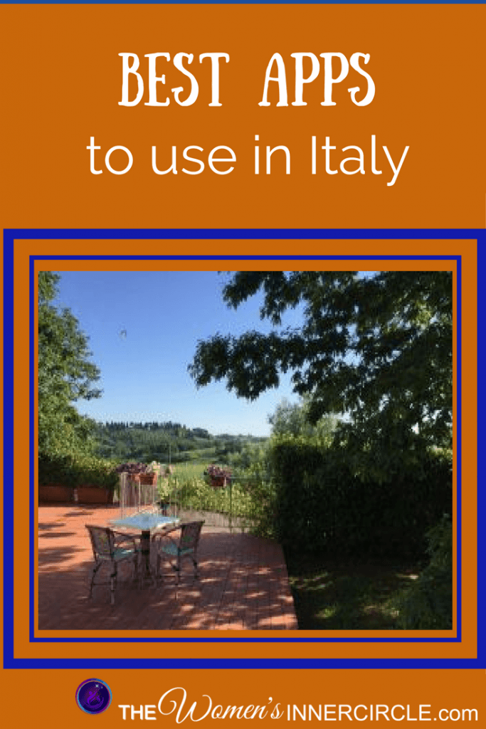 Best Apps to Use in Italy ~ The Women's Inner Circle