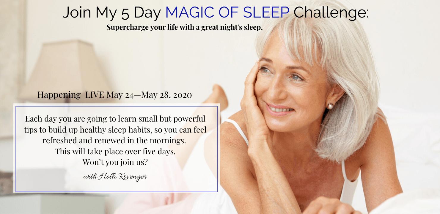 Join our Sleep Challenge to Improve Your Sleep