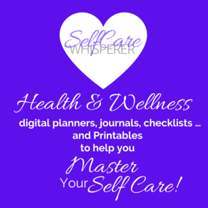 Master your self care with printables